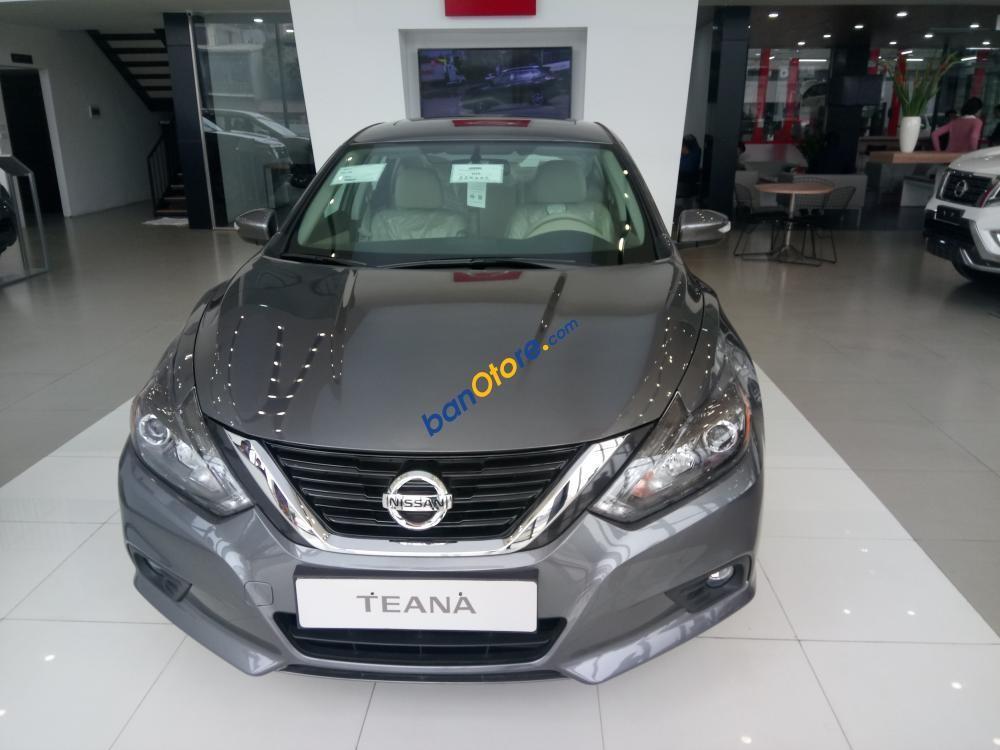 Bán Nissan Teana 2.5SL năm 2017, màu xám (ghi), nhập khẩu nguyên chiếc