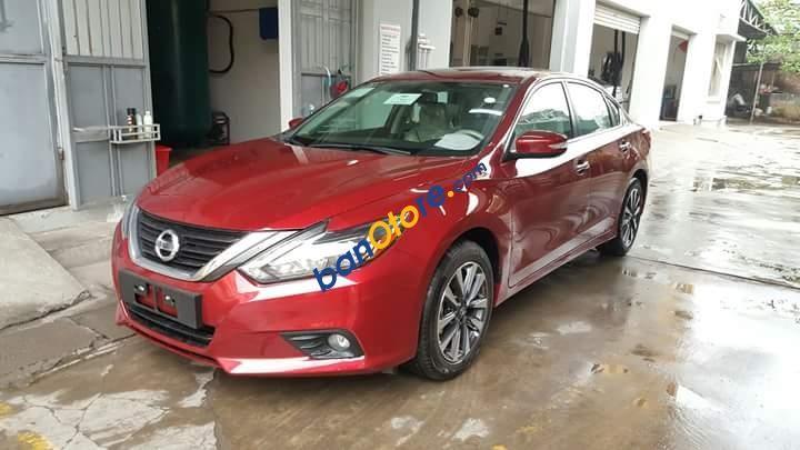 Bán Nissan Teana SL đời 2018, màu đỏ, nhập khẩu nguyên chiếc