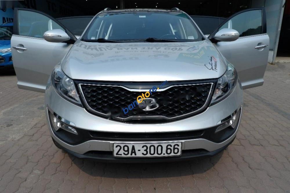Bán Kia Sportage sản xuất 2011, màu bạc, nhập khẩu, giá 615tr