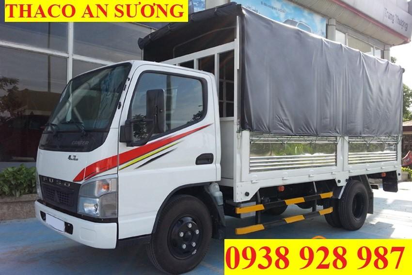 Bán xe tải Mitsubishi Fuso Canter 4,7 tải trọng 2 tấn vào thành phố, đời 2017