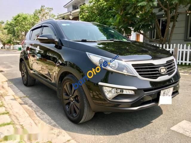 Bán Kia Sportage TLX đời 2010, màu đen, nhập khẩu Hàn Quốc