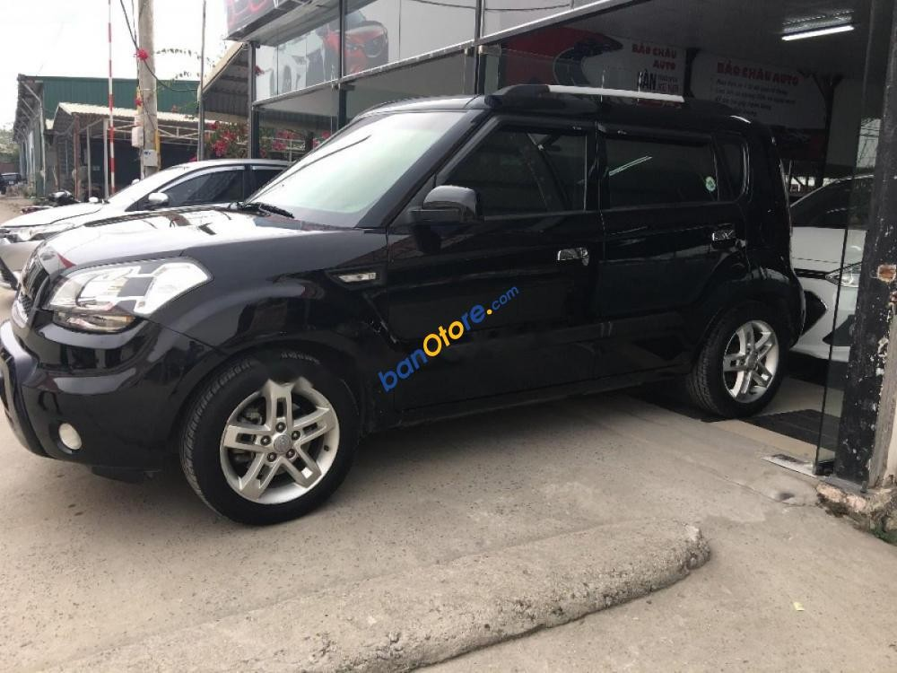 Cần bán lại xe Kia Soul 4U 1.6 AT sản xuất năm 2009, màu đen, nhập khẩu nguyên chiếc như mới
