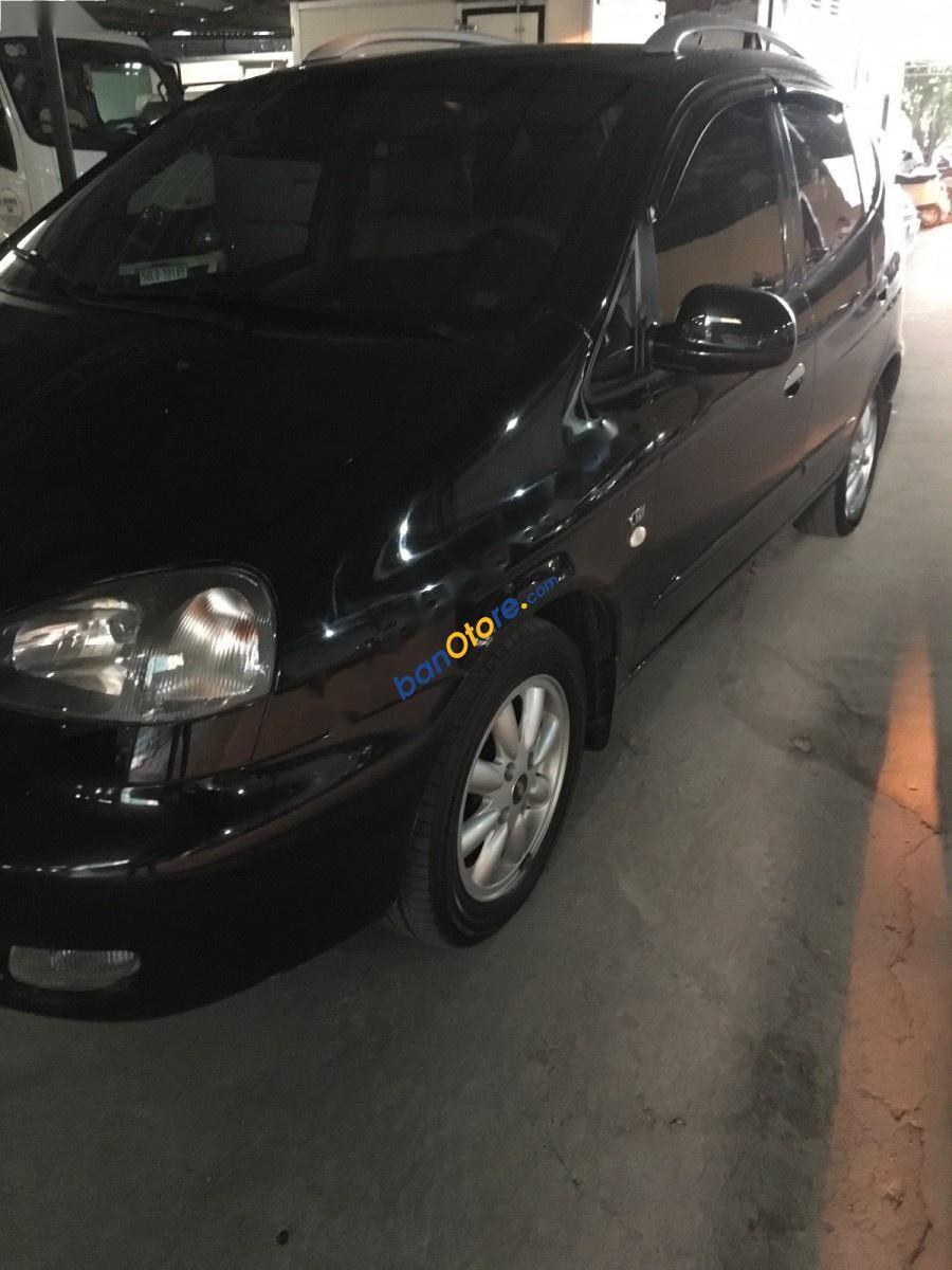 Cần bán lại xe Chevrolet Vivant 2.0 CDX AT sản xuất 2011, màu đen