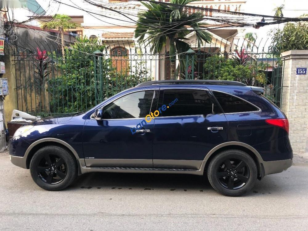 Bán Hyundai Veracruz 3.8 V6 năm 2007, màu xanh lam, nhập khẩu
