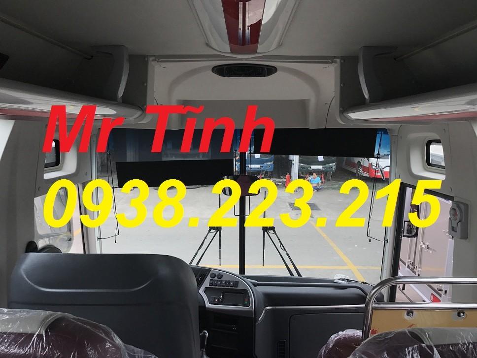 Bán xe Thaco Universe sản xuất năm 2018, màu trắng