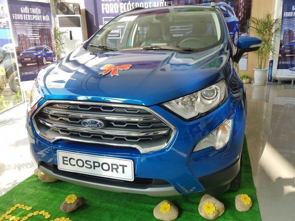 Cần bán xe Ford EcoSport Titanium 2019, đủ màu săc, xe giao ngay, giá cực tốt, LH: 0918889278