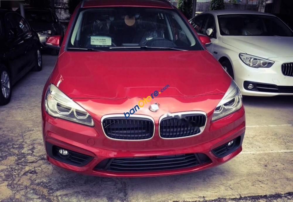 Bán BMW 2 Series 218i Gran Tourer sản xuất năm 2016, màu đỏ, xe nhập còn mới