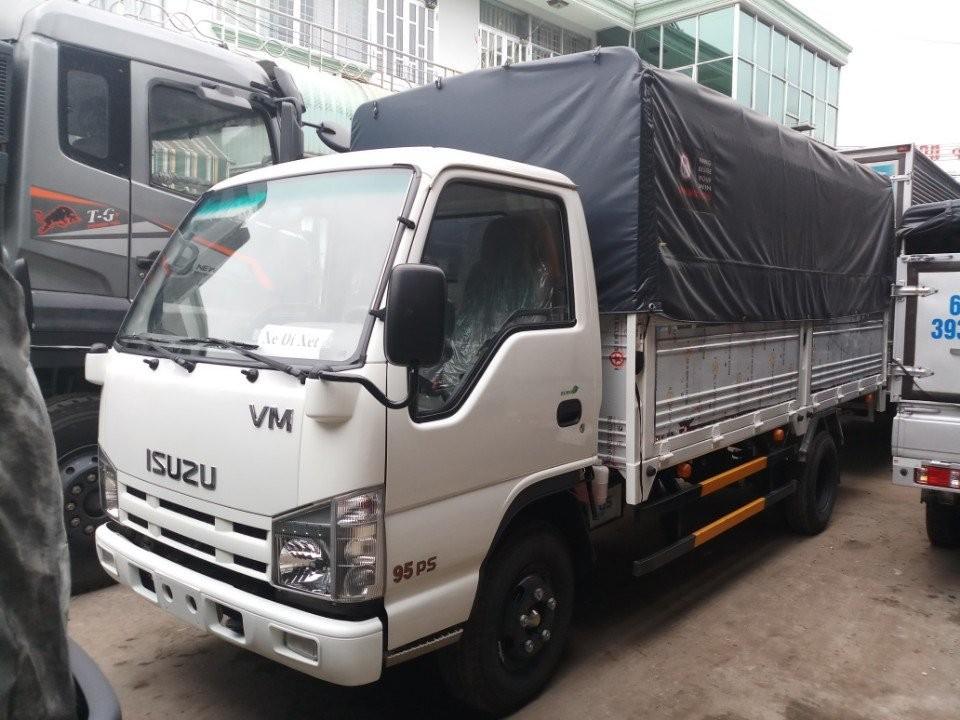 Isuzu 3T49 VM Vĩnh Phát, thùng mui bạt