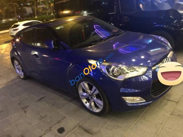 Cần bán lại xe Hyundai Veloster 1.6AT 2011, màu xanh lam, nhập khẩu chính chủ