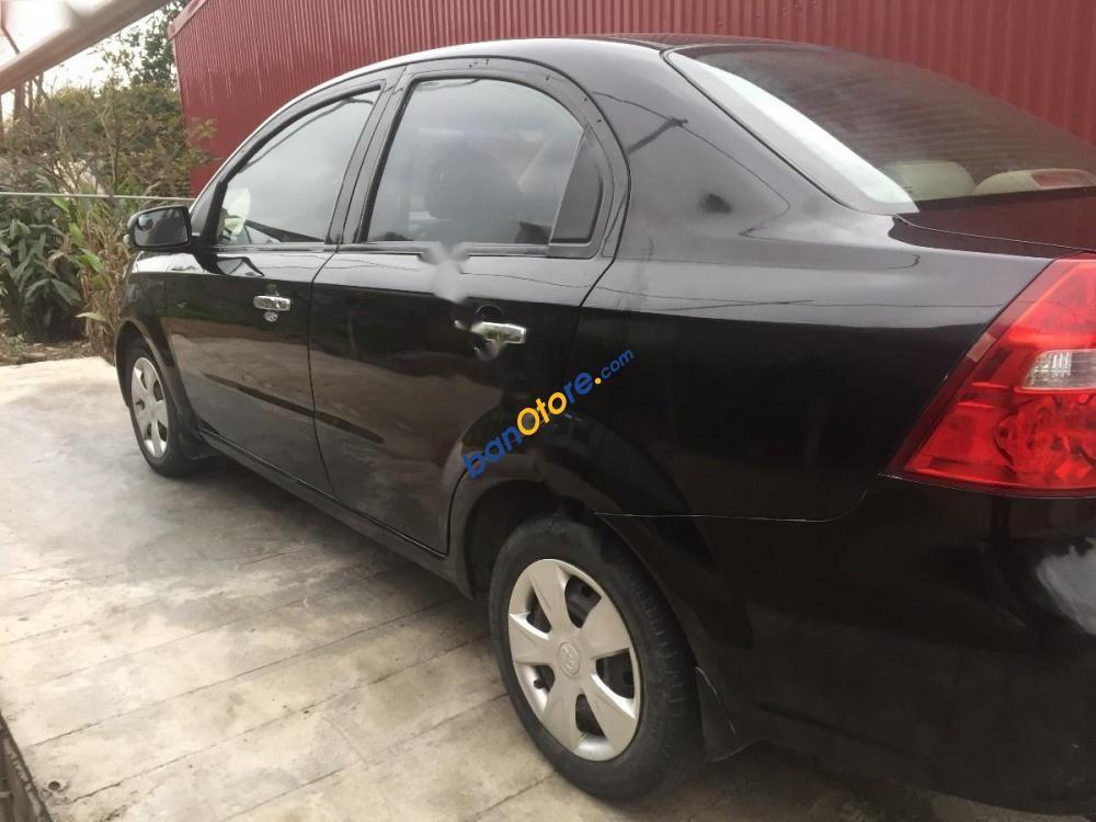 Cần bán Daewoo Gentra SX 1.5 MT năm sản xuất 2009, màu đen xe gia đình, giá tốt