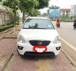 Bán Kia Carens AT 2012 màu trắng full option