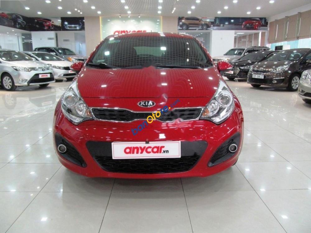 Bán ô tô Kia Rio 1.4AT sản xuất 2014, màu đỏ, nhập khẩu nguyên chiếc, giá 489tr