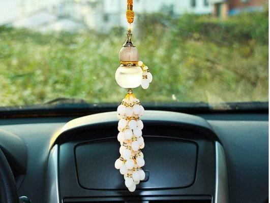 Hồ lô tử kim cũng là một loại đồ phong thủy cho xe ô tô rất phổ biến