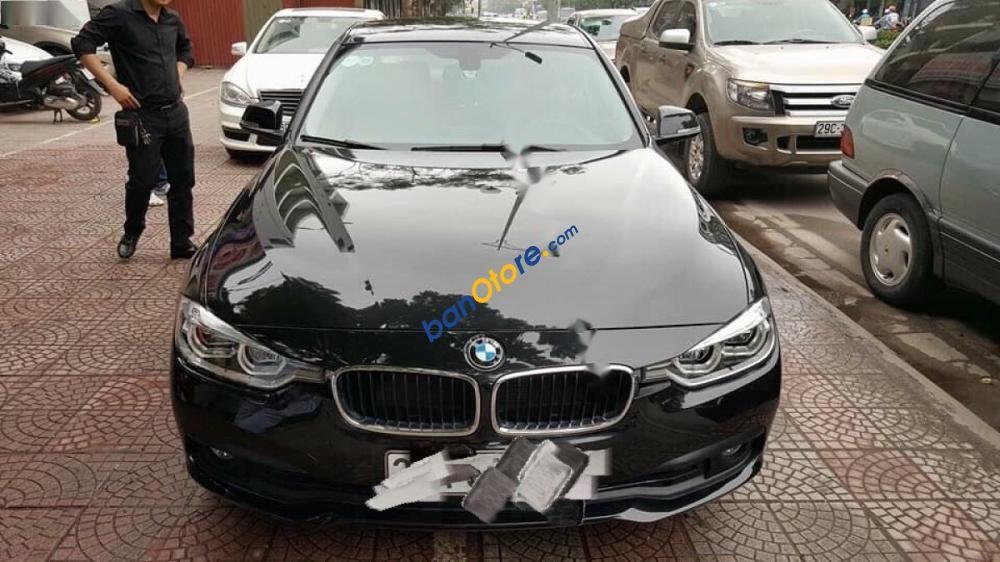 Bán BMW 3 Series 320i đời 2015, màu đen, xe nhập