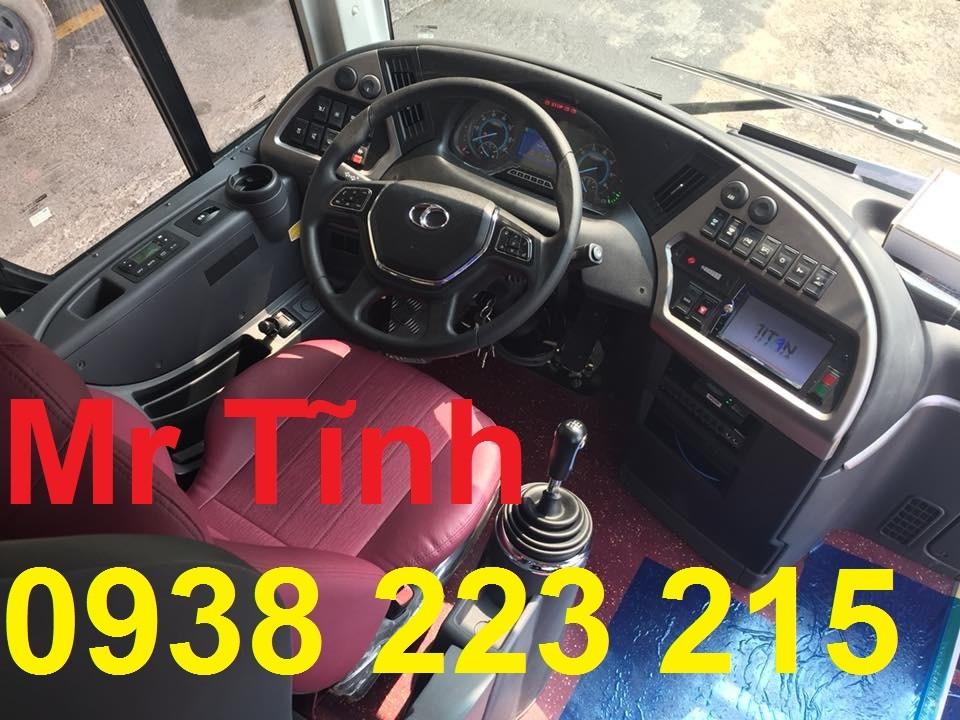 Cần bán xe Thaco Universe Tb120SE4 336 đời 2018, màu đỏ, xe nhập
