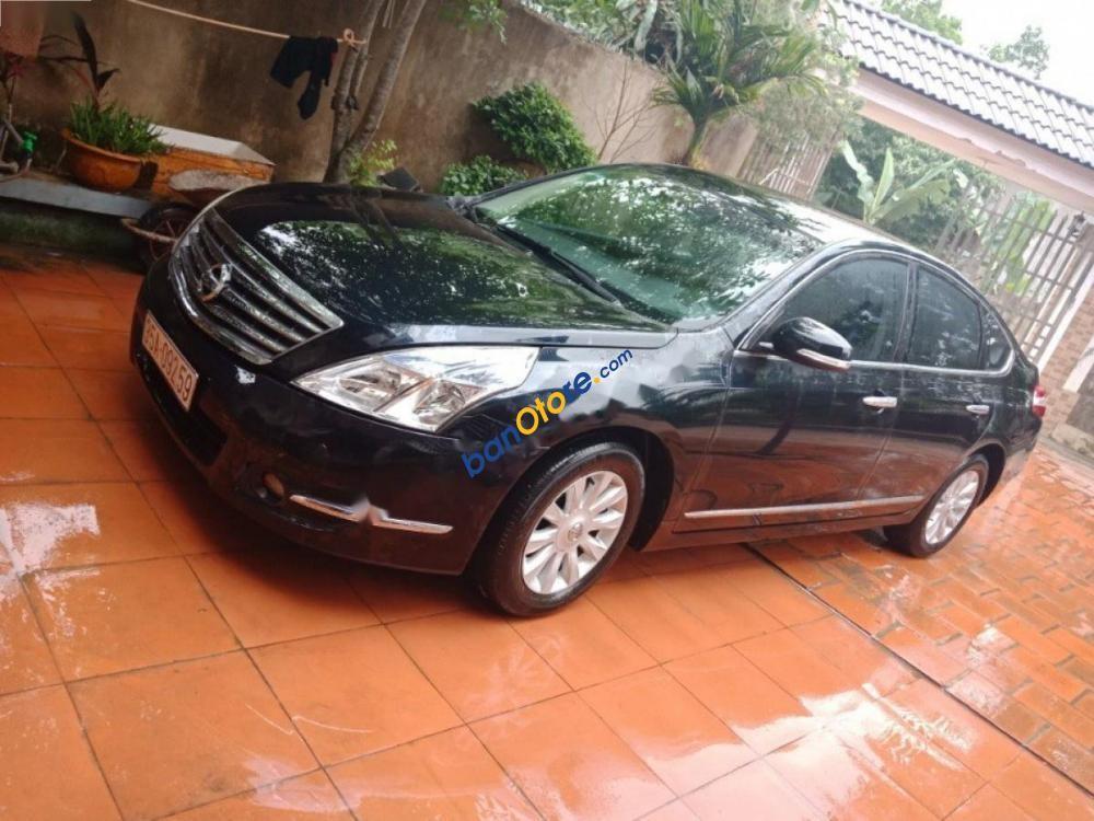 Bán Nissan Teana 2.0 AT đời 2010, màu đen, xe nhập, giá chỉ 495 triệu