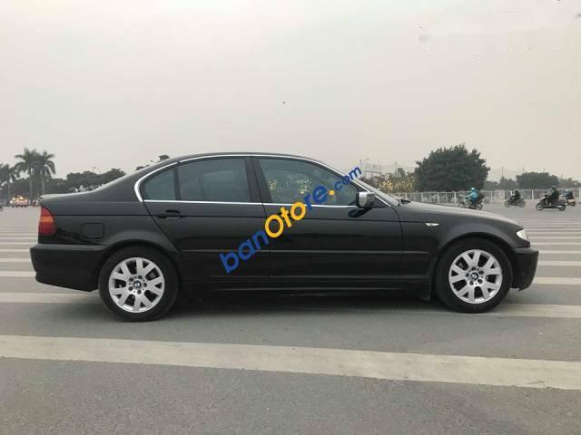 Bán BMW 3 Series 318i AT đời 2004, màu đen, xe nhập