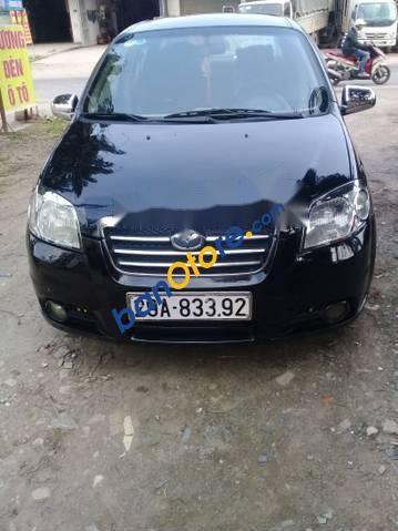 Bán Daewoo Gentra sản xuất năm 2007, màu đen, 158tr