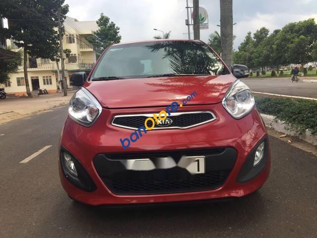 Cần bán xe Kia Picanto đời 2013, màu đỏ, nhập khẩu còn mới