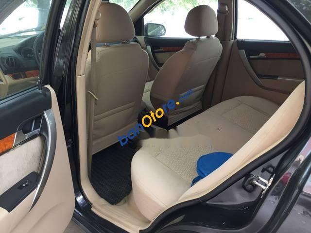 Cần bán xe Daewoo Gentra sản xuất năm 2008, màu đen