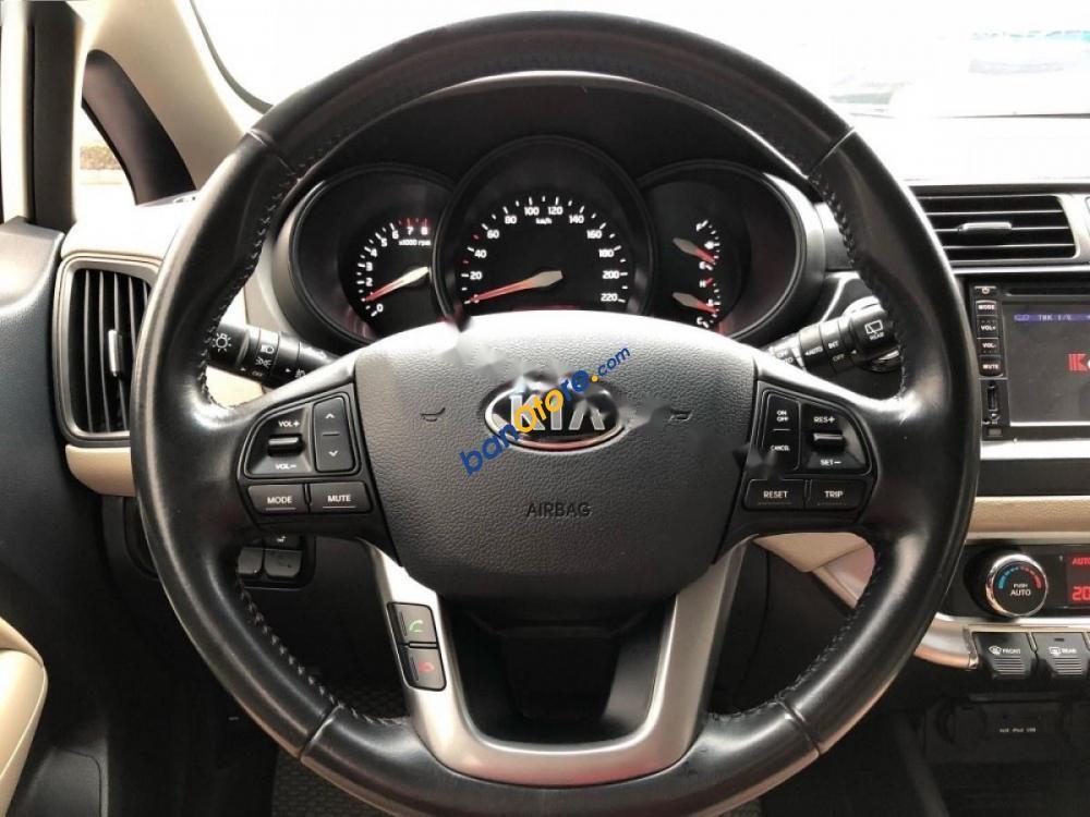 Cần bán Kia Rio 1.4 AT sản xuất năm 2013, màu trắng, nhập khẩu giá cạnh tranh
