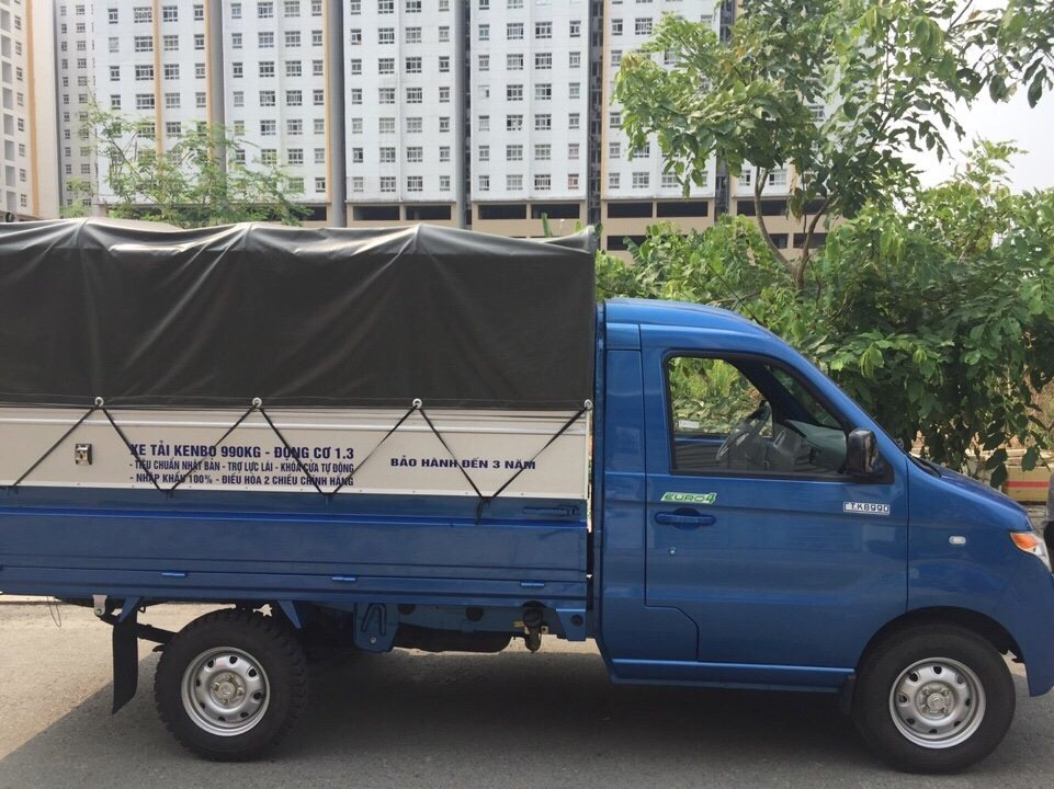 Bán xe tải chiến thắng Kenbo 990kg, thùng dài 2m7