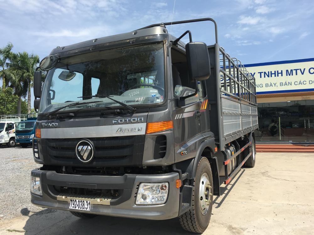 Cần bán xe Thaco AUMAN C160 2017, màu xám. Liên hệ 0969.644.128