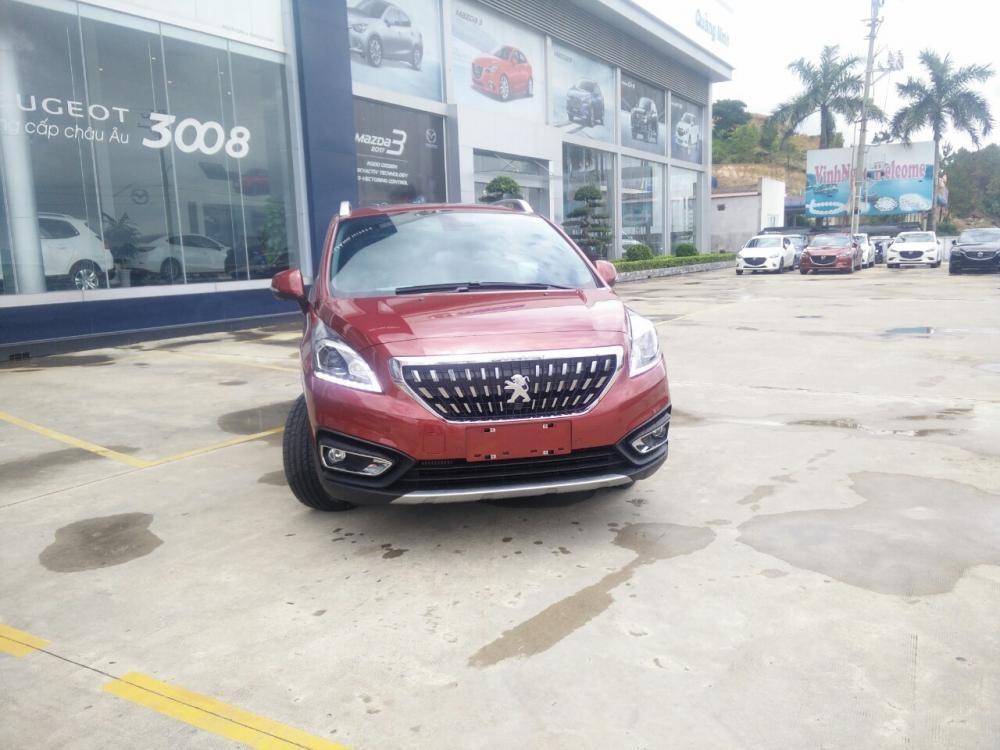 Bán Peugeot 3008 Facelift đời 2018, màu đỏ