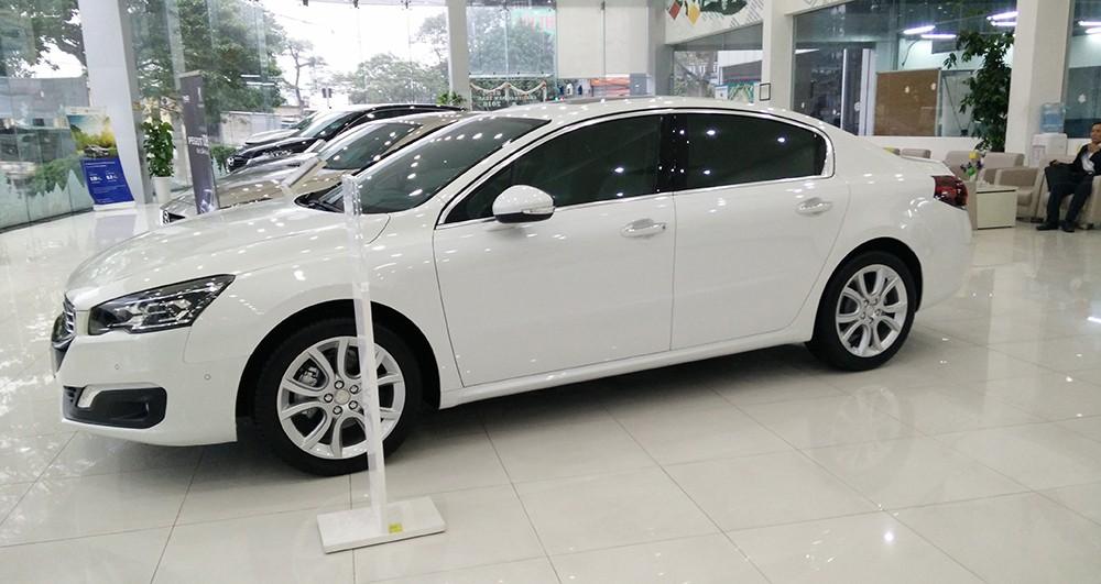 Peugeot Quảng Ninh bán xe Pháp Peugeot 508 Facelift màu trắng, nhập khẩu nguyên chiếc