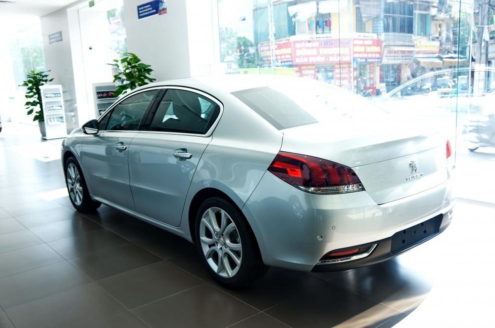 Peugeot Quảng Ninh bán xe Pháp Peugeot 508 Facelift, màu bạc, nhập khẩu nguyên chiếc
