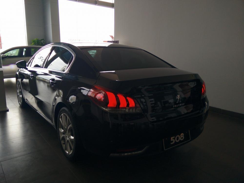 Peugeot Quảng Ninh bán Peugeot 508 Facelift, màu đen, nhập khẩu nguyên chiếc