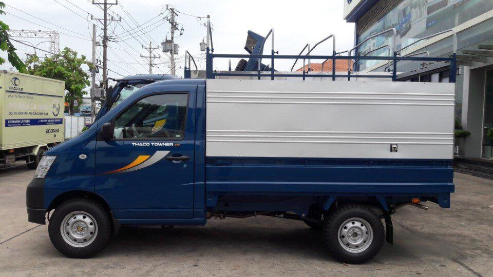 Bán xe Towner 990 tải trọng 990kg theo chuẩn khí thải Euro4 lưu thông thành phố