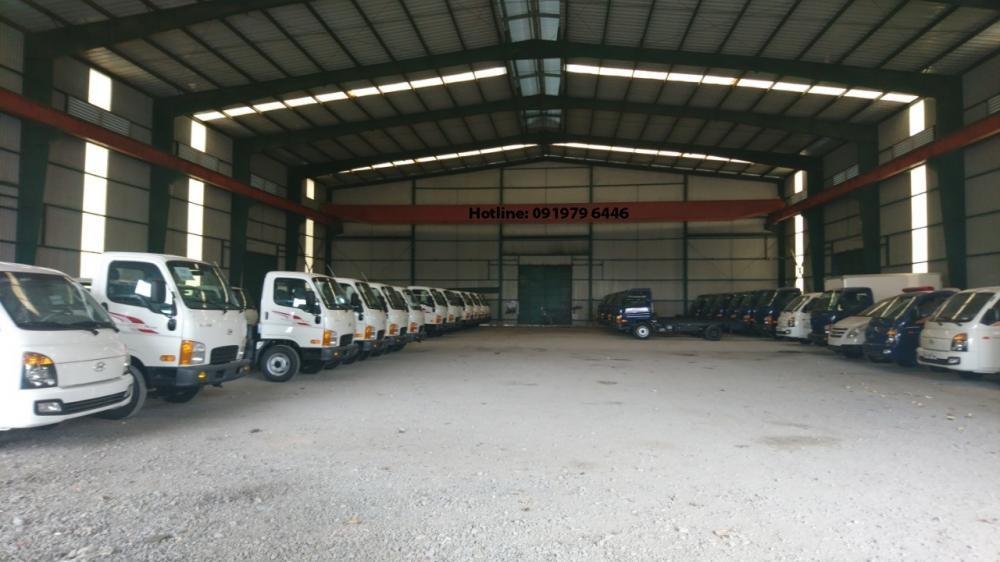 Trung tâm phân phối các loại xe tải Hyundai New Porter, Mighty, HD, H1000, xe khách