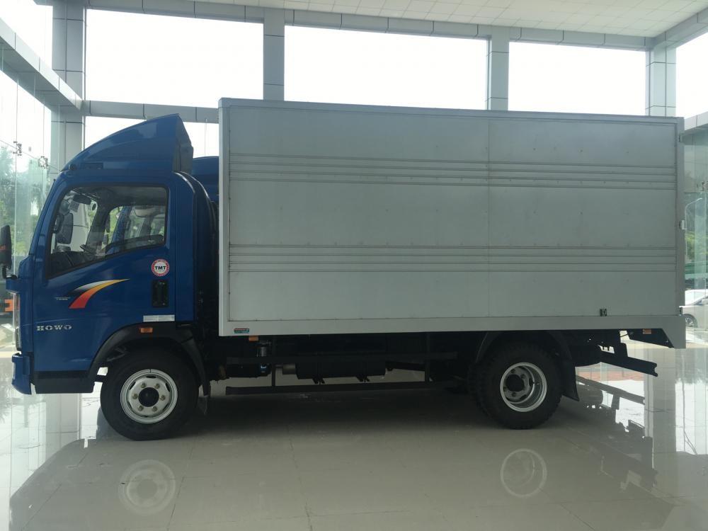 Bán ô tô Cửu Long 5 - 7 tấn năm sản xuất 2017, màu xanh lam