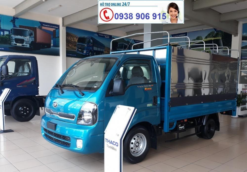Bán xe tải Kia K200 đời 2019, động cơ Hyundai Euro 4, tải trọng 990kg-1.9 tấn, giá tốt tại Bình Dương