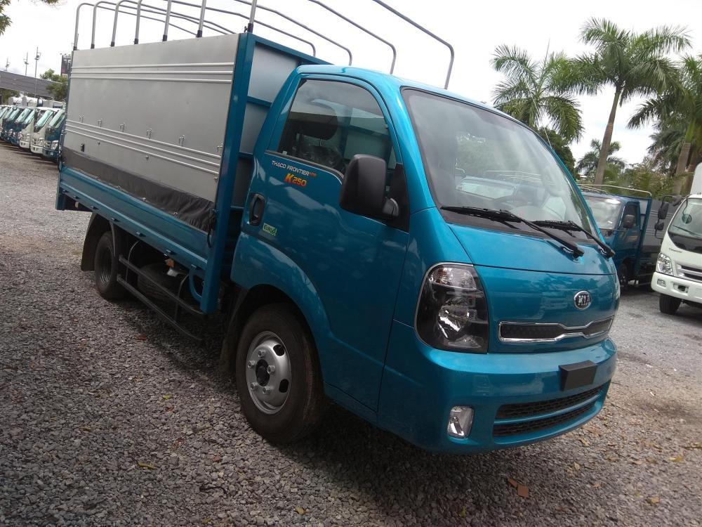 K250 -2,49 tấn hoàn toàn mới, thay thế K165, động cơ Hyundai D4CB