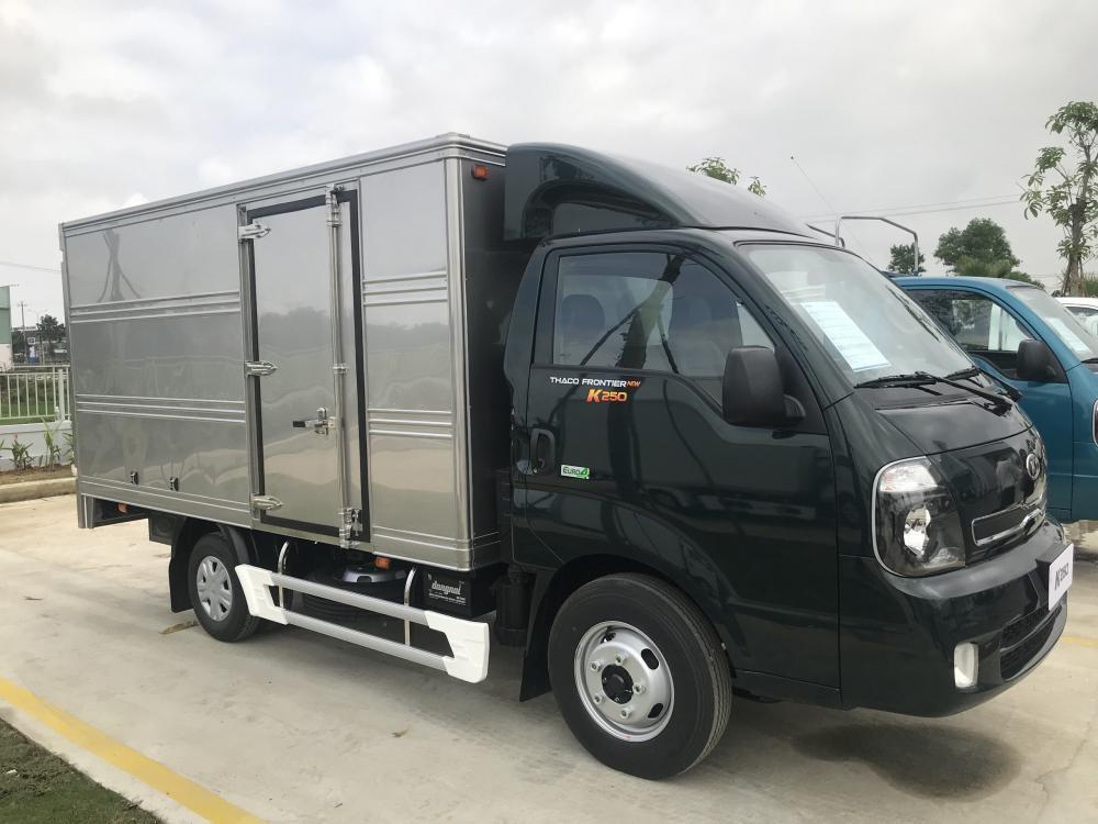 Bán K200 sản phẩm mới của kia, động cơ Hyundai D4CB kết hợp turbo tăng áp, hỗ trợ trả góp lãi suất thấp nhất