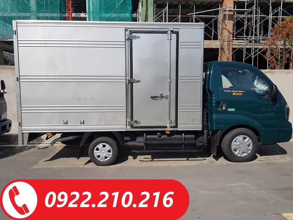 Cần bán Thaco Kia K200 năm 2018, màu xanh lam giá cạnh tranh