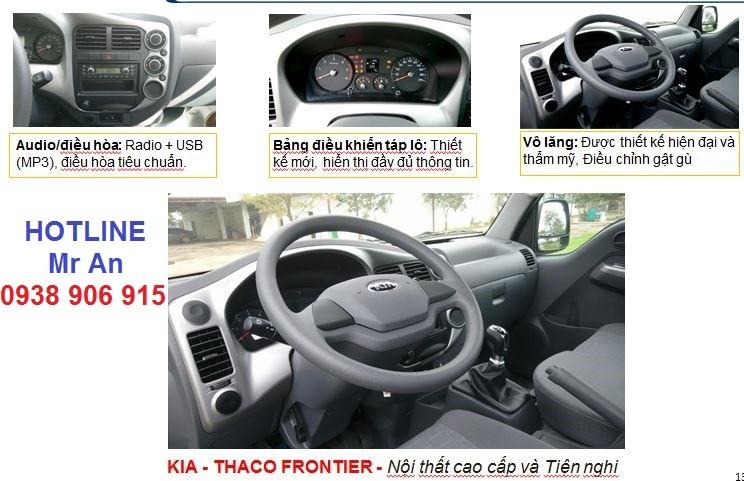 cần bán xe tải Kia K250 máy Hyundai 2T4 đời 2019, xe tải Kia K250 vào thành phố hỗ trợ trả góp