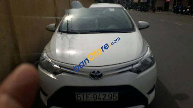 Bán Toyota Vios năm sản xuất 2017, màu trắng