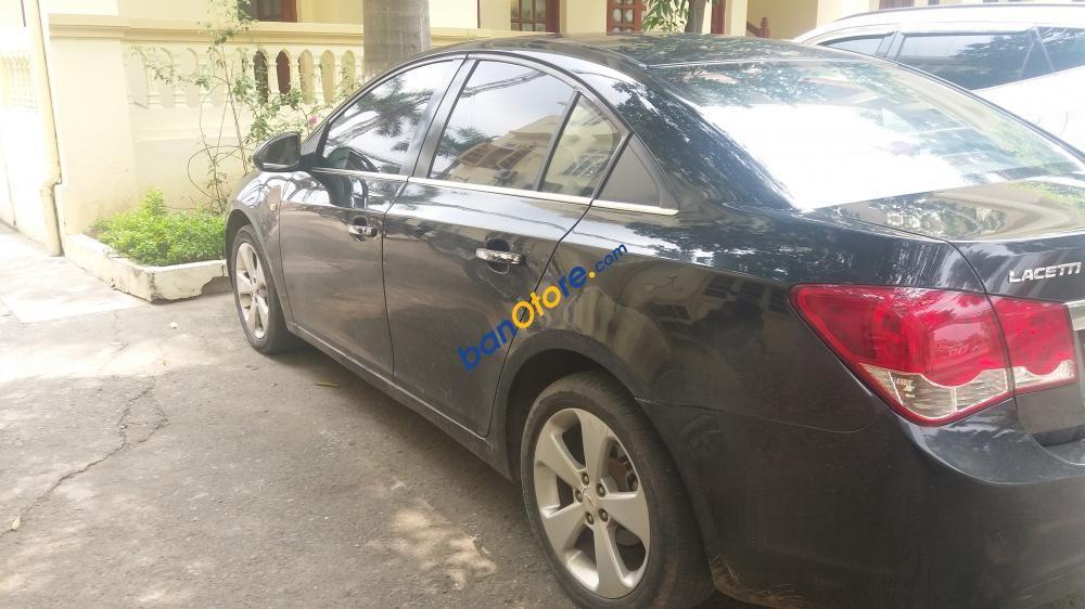 Bán xe Lacetti CDX 2010, màu đen, giá 320 triệu