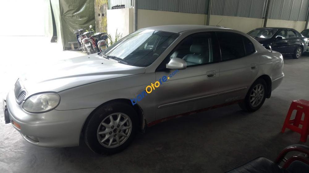 Bán Daewoo Leganza màu ghi đời 1999, số tự động, phanh ABS, điều hóa rét