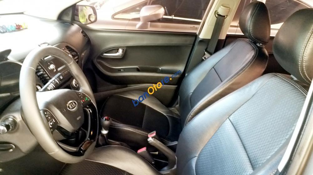 Hàng cực hiếm cần bán lại xe Kia Morning 1.25 đăng ký lần đầu 2013, màu xám, nhập khẩu năm 2011, giá 275 triệu