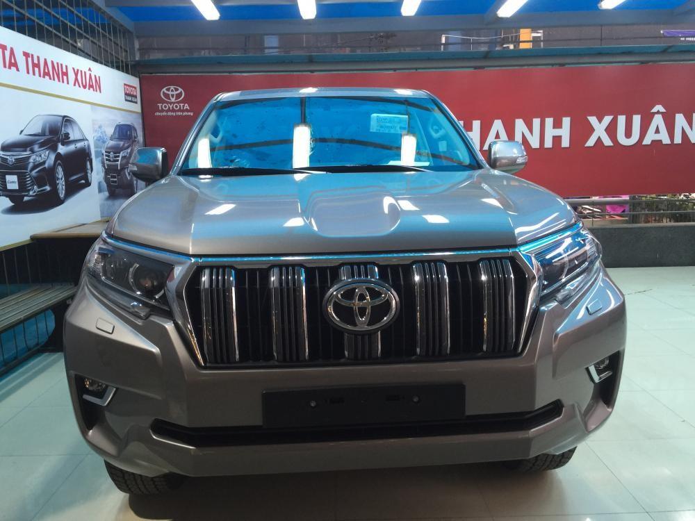 Bán Toyota Prado 2.7VX nhập khẩu nguyên chiếc, nhiều màu giao sớm, hỗ trợ trả góp tới 90%