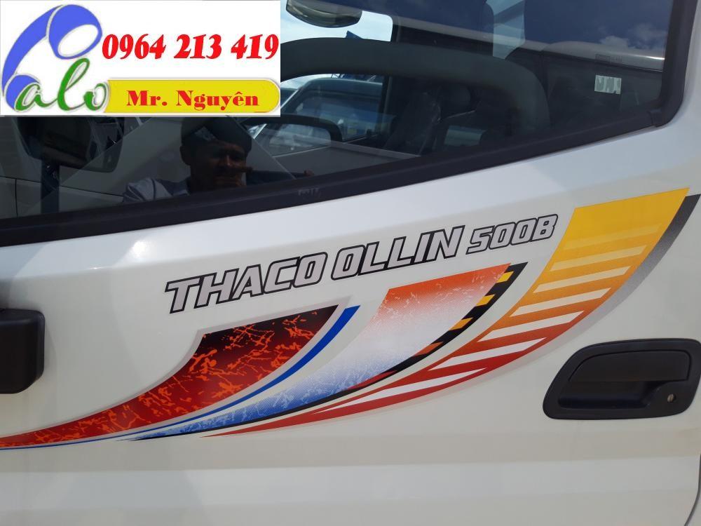 Bán xe Thaco Ollin 500B-Tải trọng 4.995 tấn - 0964 213 419