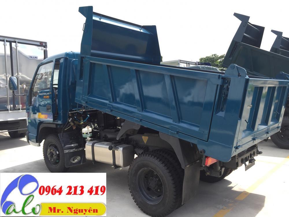 Bán xe ben Thaco Forland 2.49 tấn chạy trong thành phố, động cơ Euro 4 - 0964.213.419