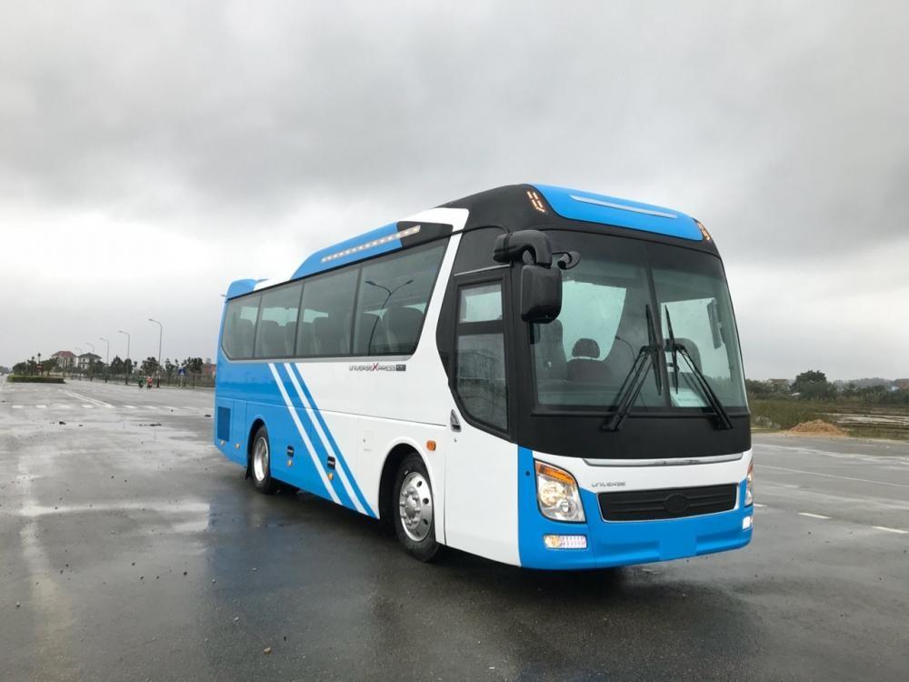Hyundai Universe Haeco 47 chỗ, giao xe sớm, hỗ trợ vay tới 75%