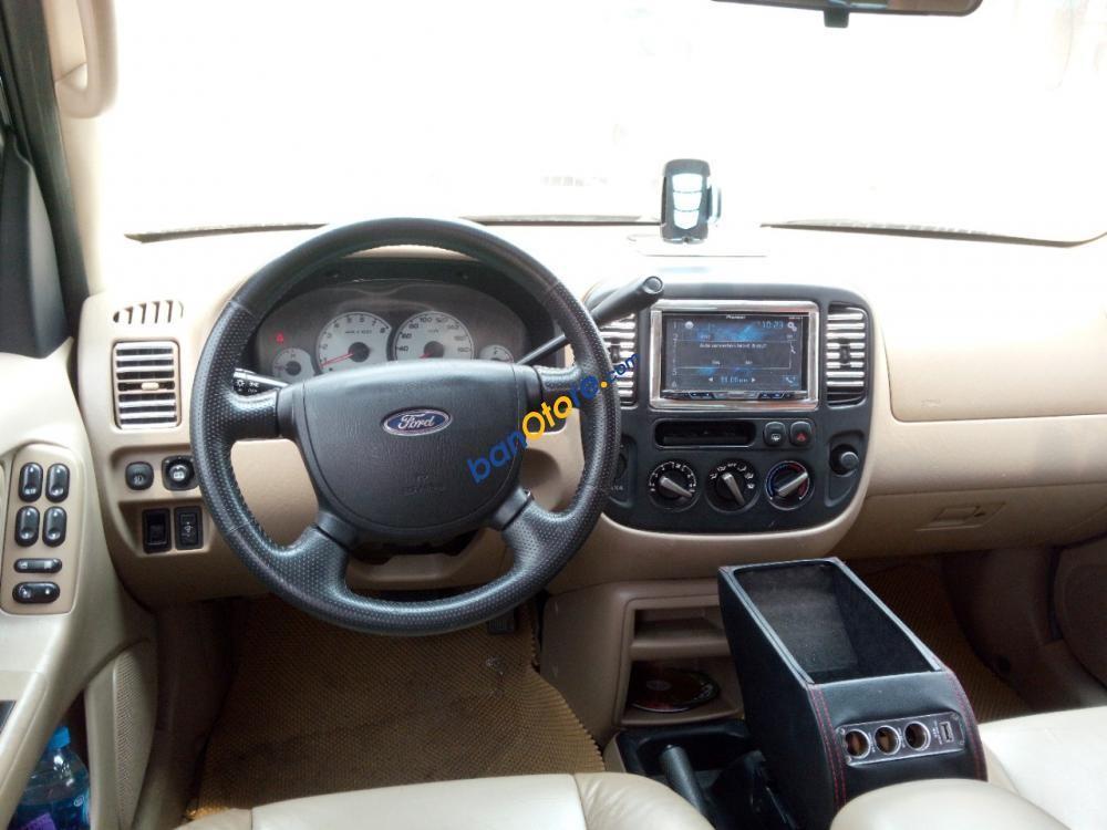 Bán Ford Escape XLT 3.0 AT sản xuất 2008, màu đen