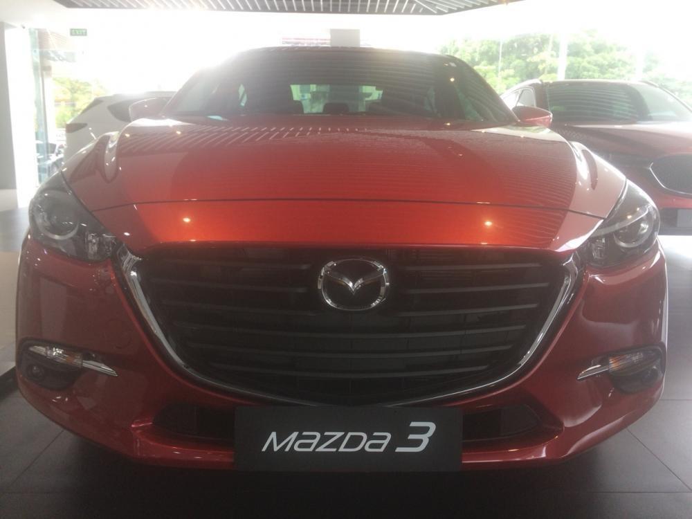 Bán xe Mazda 3 1.5 sedan 2018, màu đỏ