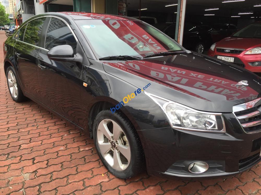 Bán xe Daewoo Lacetti CDX 1.6 AT đời 2011, màu đen, xe nhập
